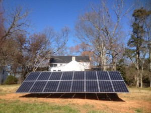 Going Solar at Oak Grove Plantation B & B