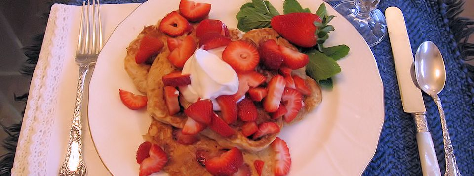 You are sure to enjoy our delicious breakfast!